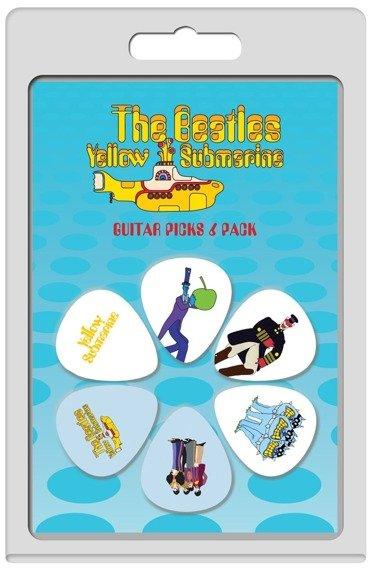zestaw kostek THE BEATLES - YELLOW SUBMARINE LP-TB5 (6 szt)