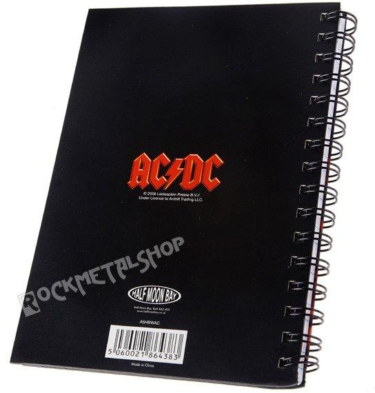zeszyt AC/DC