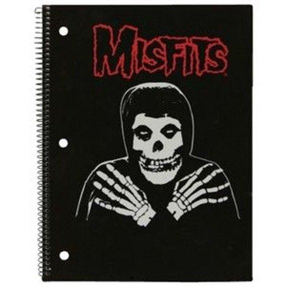 zeszyt/notes MISFITS - CROSSED ARMS gruba linia