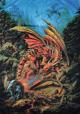 flaga FANTASY - DRAGONS OF THE RUNERING