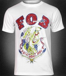 koszulka FALL OUT BOY - NATIVE WOLF