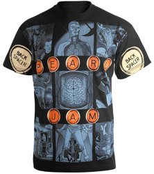 koszulka PEARL JAM - BACKSPACER allprint