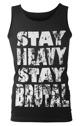 koszulka na ramiączkach STAY HEAVY STAY BRUTAL